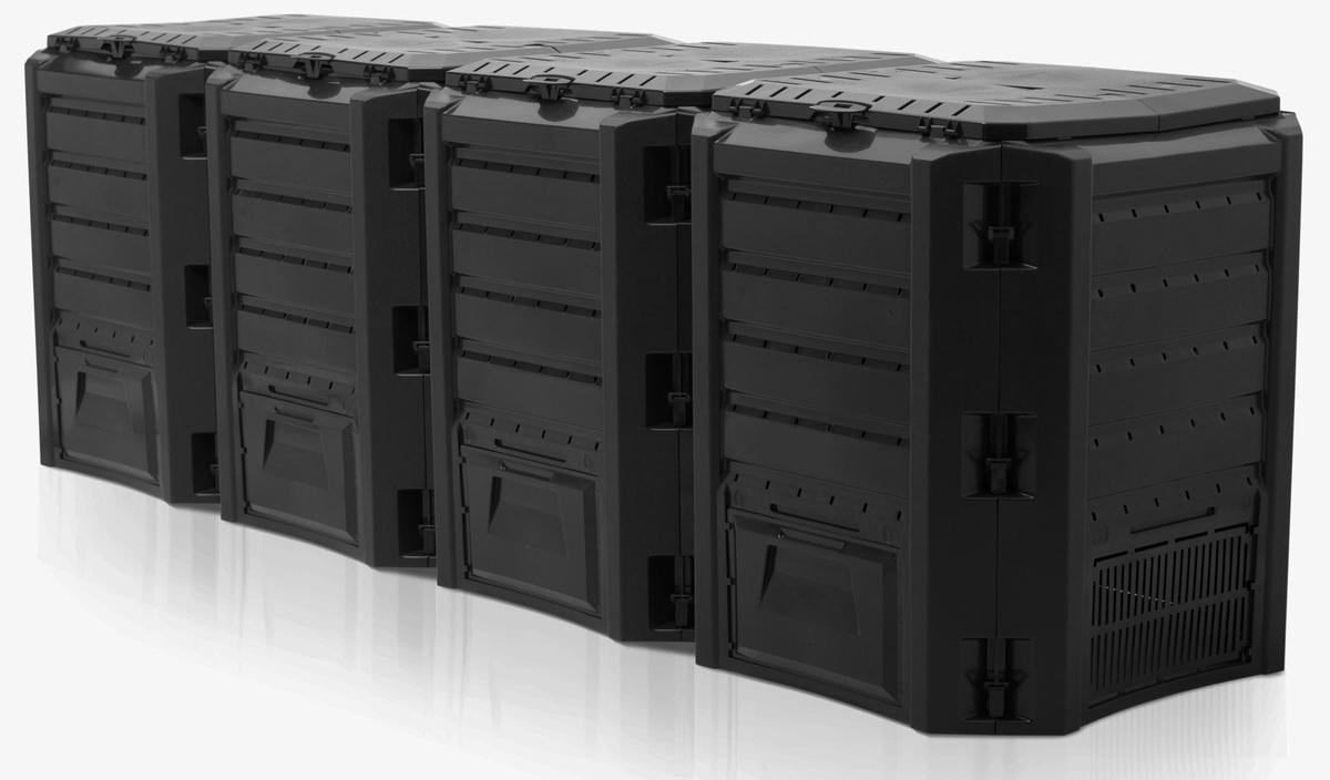 cb23704b23e45 Kompostér Prosperplast Compogreen 1600l čierny - Aldoshop.sk