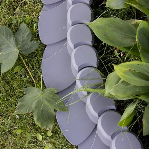 Záhradná palisáda lem trávníka Happy Grass 7 cm - 3,1m