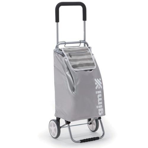 Nákupní taška na kolieskach Flexi šedá