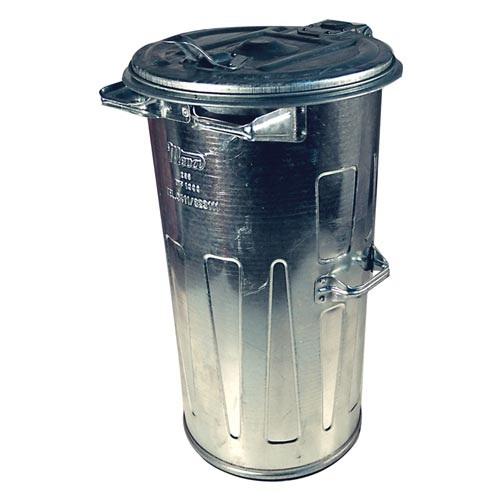 Popolnice na odpadky 110 l zinková