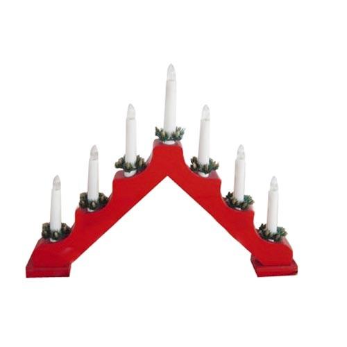 Svietnik vianočný elektrický 7 sviečok